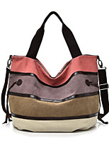 cheap -Women's Bags Polyester / Canvas Top Handle Bag / Hobo Bag for Shopping / Daily Blue / Blushing Pink / Fall & Winter