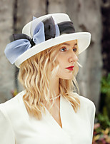 cheap -Headwear Leisure Polyester Straw Hats with Bowknot 1pc Casual / Daily Wear Headpiece