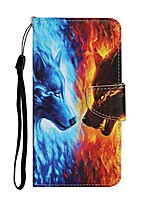 cheap -Case For Apple iPhone 11 / iPhone 11 Pro / iPhone 11 Pro Max Wallet / Card Holder / with Stand Full Body Cases Animal PU Leather