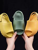 cheap -Girls' Sandals Comfort PU Toddler(9m-4ys) Black / Yellow / Blue Summer