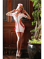 cheap -Women's Print Uniforms & Cheongsams Suits Nightwear Solid Colored White One-Size