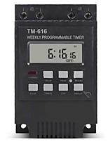 cheap -220V 110V 12V 30AMP TM616 Control Load 7 Days Programmable Digital TIME SWITCH Relay Timer Control - 220V