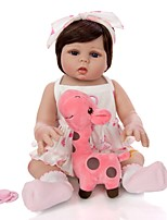 cheap -KEIUMI 19 inch Reborn Doll Baby & Toddler Toy Reborn Toddler Doll Baby Girl Gift Cute Washable Lovely Parent-Child Interaction Full Body Silicone 19D21-C352-T05 with Clothes and Accessories for