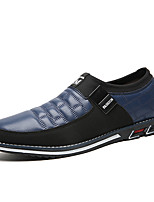 cheap -Men's Spring / Summer Business / Classic / Casual Daily Office & Career Loafers & Slip-Ons Nappa Leather Breathable Non-slipping Wear Proof Black / Blue / Brown