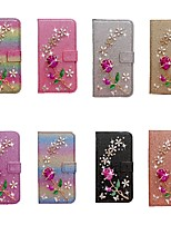 cheap -Case For Samsung Galaxy A51 A31 A71 Wallet / Card Holder / with Stand Full Body Cases Glitter Shine Roses PU Leather Case For Samsung A70E A41 A11 A21 A91 A81 A20e A10e A50s A30s A70s A20 M20 M10 A750