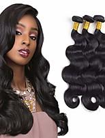 cheap -3 Bundles Hair Weaves Brazilian Hair Body Wave Human Hair Extensions Remy Human Hair 100% Remy Hair Weave Bundles 300 g Natural Color Hair Weaves / Hair Bulk Human Hair Extensions 8-28 inch Natural