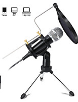 cheap -Recording Condenser Microphone Mobile Phone 3.5mm Jack Microphone for PC Karaoke Mic