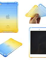 cheap -Case For Apple iPad Mini 3 2 1  iPad Mini 4  iPad Mini 5 360 Rotation  Shockproof Back Cover Color Gradient TPU