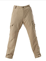 cheap -Men's Hiking Pants Summer Outdoor Standard Fit Breathable Quick Dry Ultraviolet Resistant Soft Nylon Pants / Trousers Bottoms Khaki Hunting Fishing Climbing S M L XL XXL