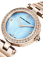 cheap -PAGANI Women's Quartz Watches Quartz Modern Style Stylish Elegant Water Resistant / Waterproof Stainless Steel Analog - Golden+White Blushing Pink Sky Blue