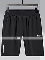 "cheap -Men's Hiking Shorts Summer Outdoor 10"" Breathable Quick Dry Sweat-wicking Wear Resistance Shorts Bottoms Black Camping / Hiking Hunting Fishing L XL XXL XXXL 4XL"