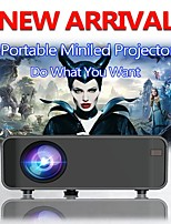 cheap -Led Projector 4200 Lux With 50000 Hrs Long Life Led Portable Home Theater Projector