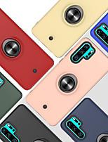 cheap -Case For Huawei P30 P30PRO P30LITE 8A Y6 Y6PRO Y7 Y7PRIME Y7PRO Y9 ENJOY9 9PLUS HONOR 10I 20I 20LITE NOVA 3I 4E P SMART PLUS Shockproof Ring Holder Back Cover Solid Colored TPU PC Metal