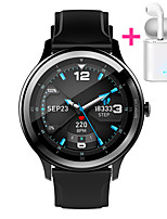 cheap -JSBP PG28 Men Women Smartwatch Custom dial Android iOS Bluetooth Waterproof Touch Screen Heart Rate Monitor Blood Pressure Measurement Sports Timer Stopwatch Pedometer Call Reminder Activity Tracker