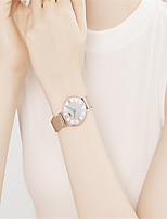 cheap -DOM Women's Quartz Watches Quartz Stylish Glitter Sparkle Water Resistant / Waterproof Stainless Steel Analog - Gold Silver