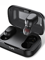 cheap -TOPK TWS Wireless Earbuds Bluetooth 5.0  Headphones Mini Cordless With Microphone for Smart Phone