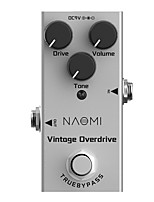 cheap -NAOMI Electric Guitar Effect Pedal Vintage Overdrive Pedal Mini Single NEP-01 DC 9V True Bypass Guitar Effects Pedal