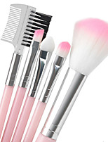 cheap -Professional Makeup Brushes 5pcs Eco-friendly Soft Plastic for Blush Brush Lash Brush Eyebrow Brush Eyeshadow Brush