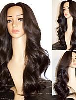 cheap -Synthetic Wig Body Wave with Baby Hair Wig Very Long Natural Black Synthetic Hair 68~72 inch Women's New Arrival Black