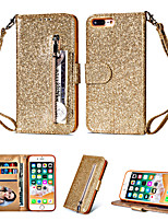 cheap -Applicable Samsung Galaxy S10/S10 Plus/S10E/S20/S20 Plus/S20 Ultra/A90 5G Shimmering Powder Leather Phone Cover Multi-functional Wallet Zipper Protective Case