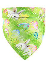 cheap -Dog Cat Bandanas & Hats Dog Bandana Dog Bibs Scarf Cartoon Rabbit / Bunny Casual / Sporty Cute Party Halloween Dog Clothes Adjustable White Purple Yellow Costume Polyster / Birthday / Birthday