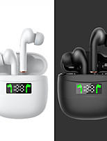 cheap -J3pro True Wireless Headphones Bluetooth 5.0 Earbuds Smart Touch Control LED Power Display Touch Control Earphones for Gym Cycling Workout iOS Android Windows