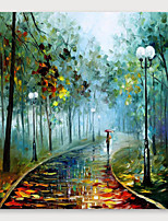 cheap -IARTS®Hand Painted Scenery is good. Oil Painting   with Stretched Frame For Home Decoration