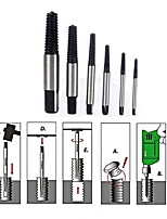 cheap -6pcs Speed Out Set Damaged Screw Extractor Bolt Bits For Guide Tools Drill Bits