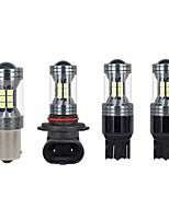 cheap -OTOLAMPARA 2pcs Car Light Bulbs 22 W SMD 3030 1800 lm 22 LED Fog Lights For universal All Models 2018 / 2016 / 2017