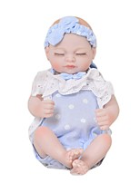 cheap -Reborn Baby Dolls Clothes Reborn Doll Accesories Cotton Fabric for 10-11 Inch Reborn Doll Not Include Reborn Doll Lace Soft Pure Handmade Girls' 2 pcs