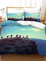 cheap -Home Textiles 3D Bedding Set  Duvet Cover with Pillowcase 2/3pcs Bedroom Duvet Cover Sets  Bedding BTS  GAME