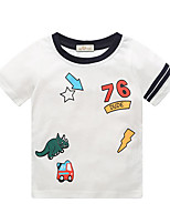 cheap -Kids Boys' Street chic Animal Short Sleeve Tee Beige