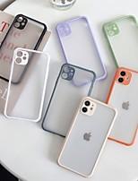 cheap -Case For APPLE  iPhone7 8 7plus 8plus SE  XR XS XSMAX  X 11  11Pro   11ProMax Shockproof  Transparent Back Cover Transparent TPU