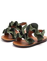 cheap -Girls' Sandals Comfort Synthetics Toddler(9m-4ys) / Little Kids(4-7ys) Black / Green / Beige Summer