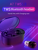 cheap -A7 TWS Earbuds Bluetooth 5.0 Wireless  Waterproof  Stereo Hifi Earphones Sport  Headset with Charging Box