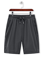 cheap -Men's Hiking Shorts Summer Outdoor Regular Fit Breathable Quick Dry Sweat-wicking Wear Resistance Nylon Spandex Shorts Bottoms Black Blue Grey Hunting Fishing Climbing L XL XXL XXXL 4XL