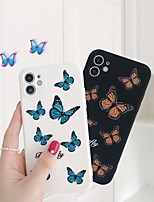 cheap -Case For APPLE  iPhone7 8 7plus 8plus  XR XS XSMAX  X SE  11  11Pro   11ProMax Pattern Back Cover Butterfly Silica Gel