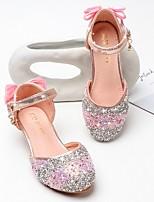 cheap -Girls' Sandals Comfort PU Little Kids(4-7ys) Blue / Pink Summer