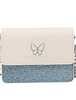 cheap -Women's Bags PU Leather Crossbody Bag Chain for Event / Party / Going out White / Black / Blue / Beige