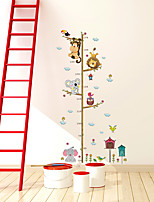 cheap -Kid's Height Measuring Ruler Wall Stickers Decorative Wall Stickers, PVC Home Decoration Wall Decal Wall Decoration / Removable