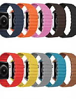 cheap -Watch Band for Apple Watch Series 5/4/3/2/1 Genuine Leather Magnetic Loop Wrist Strap
