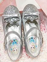 cheap -Girls' Flats Flower Girl Shoes PU Big Kids(7years +) Pink / Silver Spring / Summer