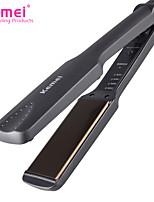 cheap -Kemei KM-329 Professional Straightening Irons Electric Beard Hair Straightener Flat Iron Fast Warm Up