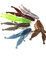 cheap -1 pcs Fishing Lures Fishing Bait Soft Bait Sinking Bass Trout Pike Bait Casting Other Lure Fishing Plastic