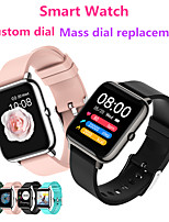 cheap -WP8 Men Women Smartwatch for Android Samsung/Huawei /Xiaomi/Sony Phone iOS Apple Phone BT Waterproof Custom Dial/Mass Dial Selection/Full Touch Screen Smart watch Smart Wearable Bracelet