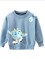 cheap -Kids Boys' Basic Animal Long Sleeve Hoodie & Sweatshirt Light Blue