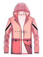 cheap -Women's Hiking Jacket Outdoor Breathable Ultraviolet Resistant Soft Comfortable Top Jacinth +Gray / White / Black / Pink / Grey