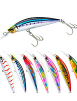 cheap -1 pcs Fishing Lures Fishing Bait Hard Bait Sinking Bass Trout Pike Bait Casting Other Lure Fishing ABS