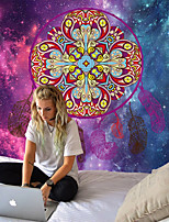 cheap -Yoga tapestry Indian mandala design polyester wall-mounted tapestry household blanket decoration multifunctional mat