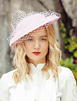 cheap -Headwear Elegant Polyester Hats / Headdress with Solid 1pc Special Occasion / Party / Evening Headpiece